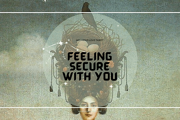 Aquarius Love Tarot (Oct 2021) - Feeling Secure With You